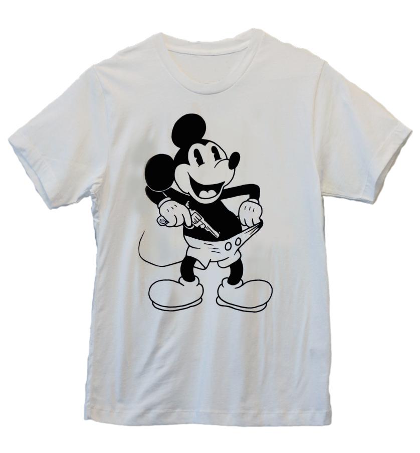 Image of Dick Shooter White Tshirt (large)
