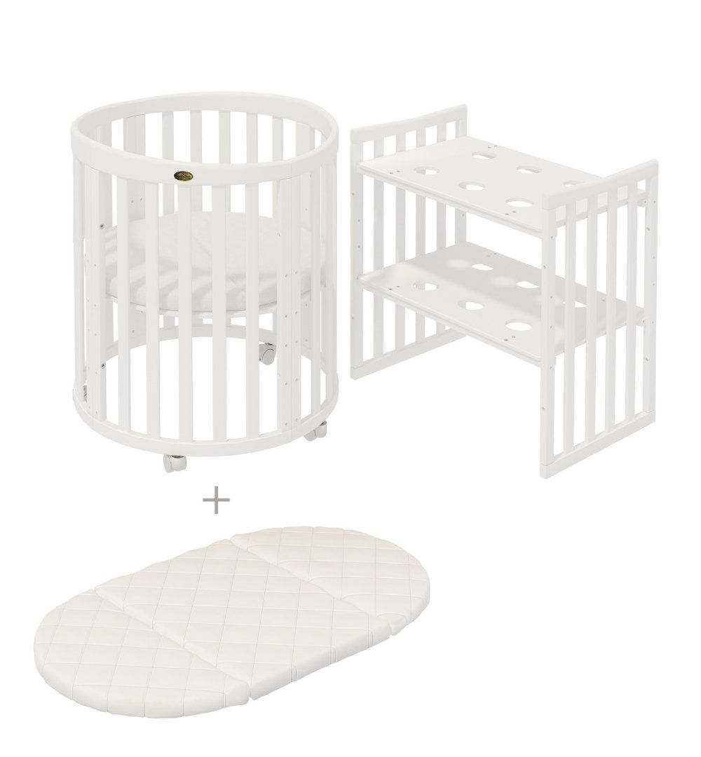 Comfortbaby Babybett Kinderbett Smartgrow 7in1 Holzfarbe Weiss Matratze In 2020 Home Projects Home Decor Home