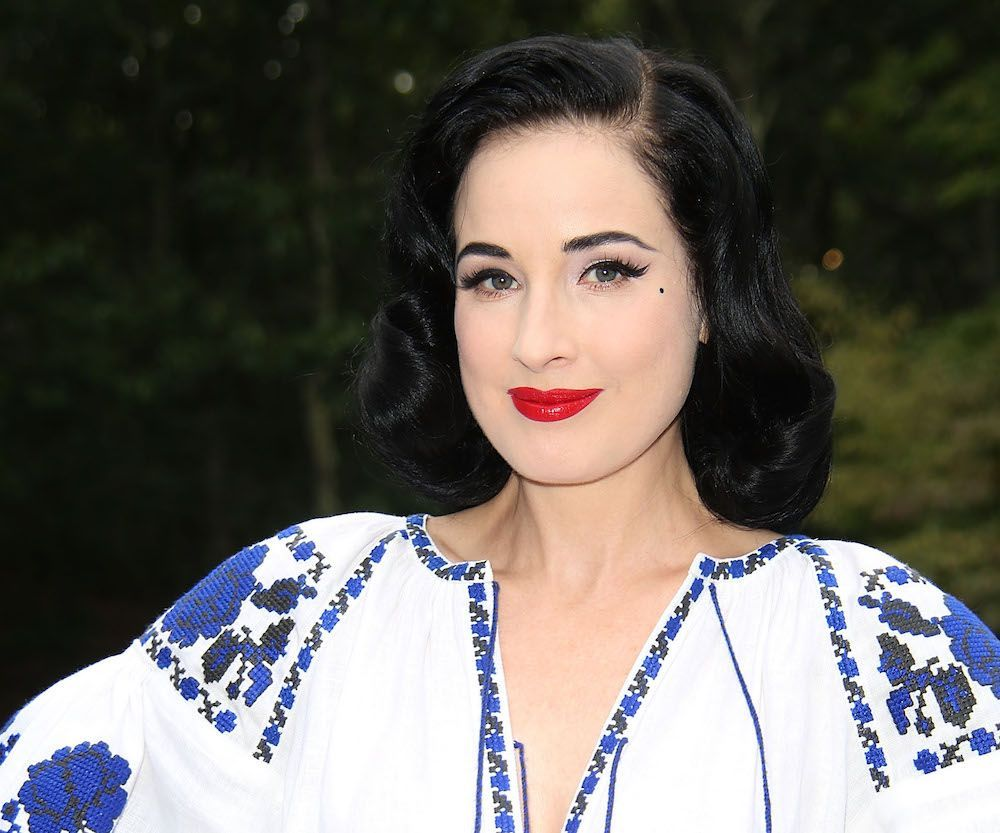 12 beauty tips from vintage queen Dita Von Teese to