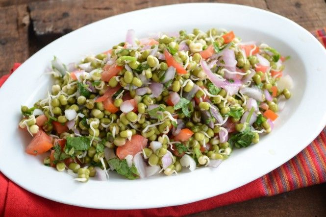 Healthy green salad recipes indian