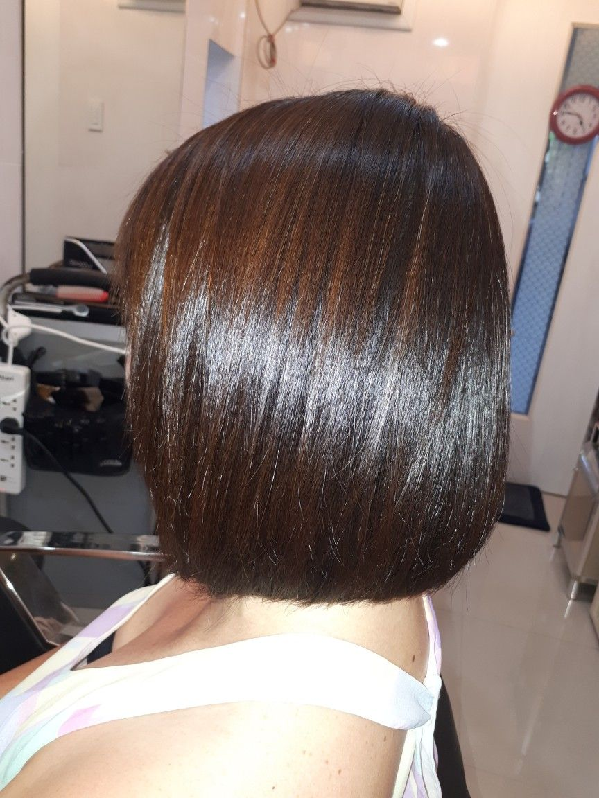 Volume rebond by xtenso with color by loreal cristy billones