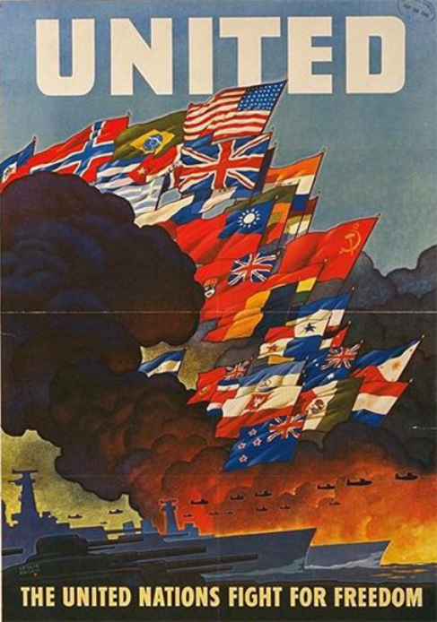 z- United Nations Fight for Freedom, 1943 (Prop- US-Allies- WWII)