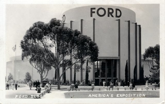 ford building, san diego, 1935 | buildings, signage, interiors