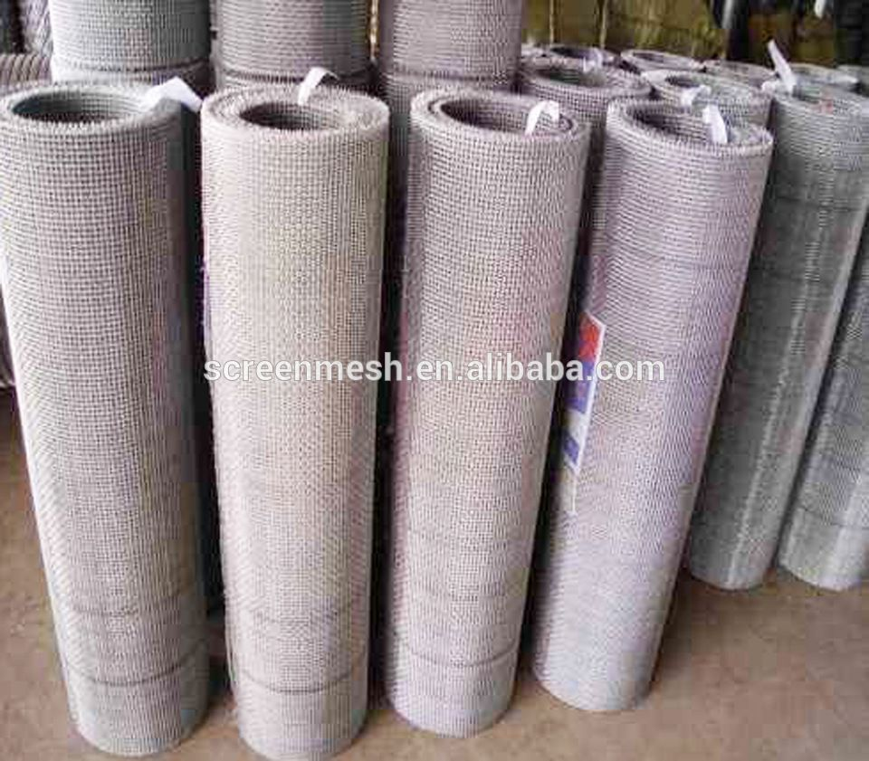 Manufacture Hot Sale Galvanized Stainless Steel Crimped Wire Mesh ...