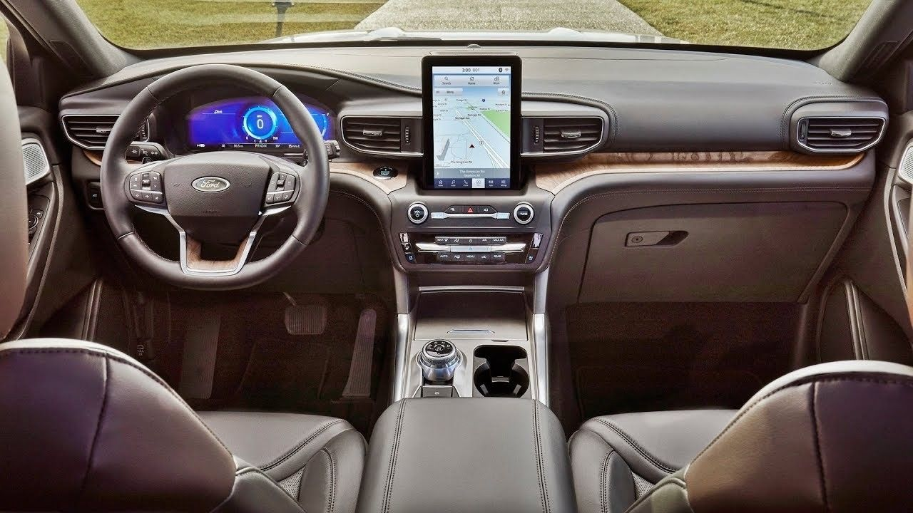 2020 Ford Explorer Interior Performance in 2020 Ford