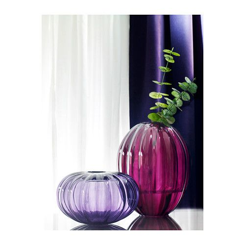 v rlikt vase ikea the glass vase is mouth blown by a skilled craftsperson only in store not on. Black Bedroom Furniture Sets. Home Design Ideas