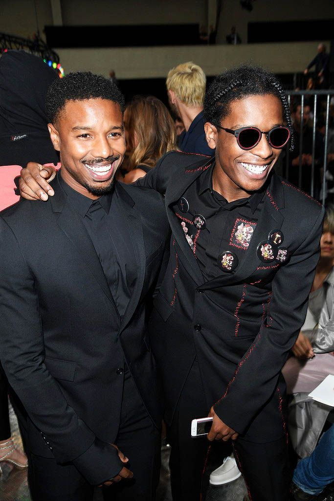 the daily AAP & Micheal for Dior Michael b jordan