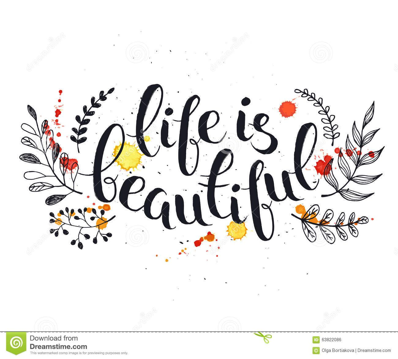 Life Is Beautiful Quotes Quotes Handlettering  Hand Written Latin Quotelife Is Beautiful