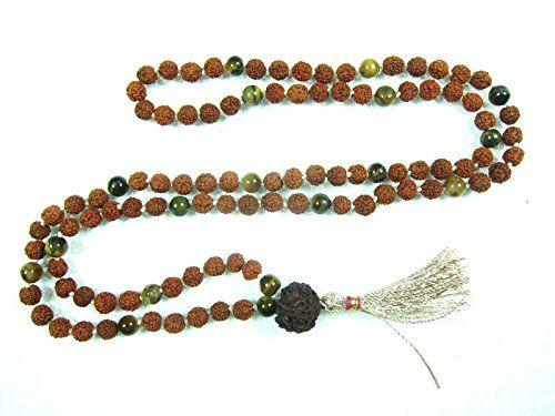 Tiger Eye Harmonious Balanced Rudraksha Prayer Mala Rosary Beads 108+1 Mogul Interior http://www.amazon.com/dp/B00PIC37VO/ref=cm_sw_r_pi_dp_oWbzub1QWEEQG