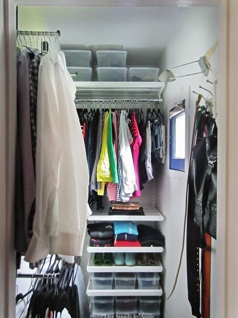 This Tiny Closet E Gets A Complete Transformation Tips To Steal Here For Maximizing In All Small Closets