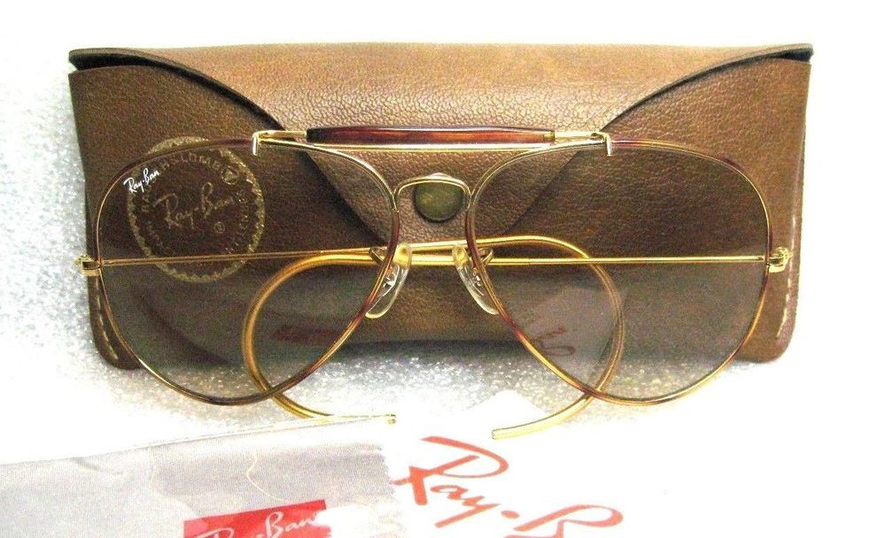 Details about NEW VINTAGE B&L RAY BAN L2928 ARISTA GOLD