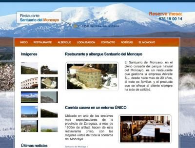 Restaurante Santuario del Moncayo http://santuariodelmoncayo.com/ #web #aragon #restaurante