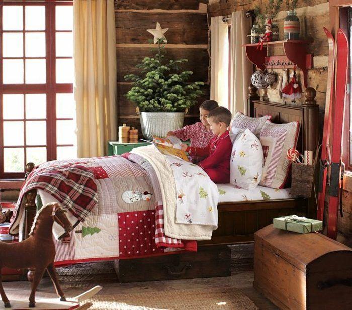 Das Kinderzimmer Weihnachtlich Dekorieren