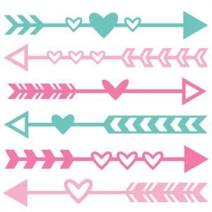 Image Result For Arrow With Heart Svg Free Cricut And