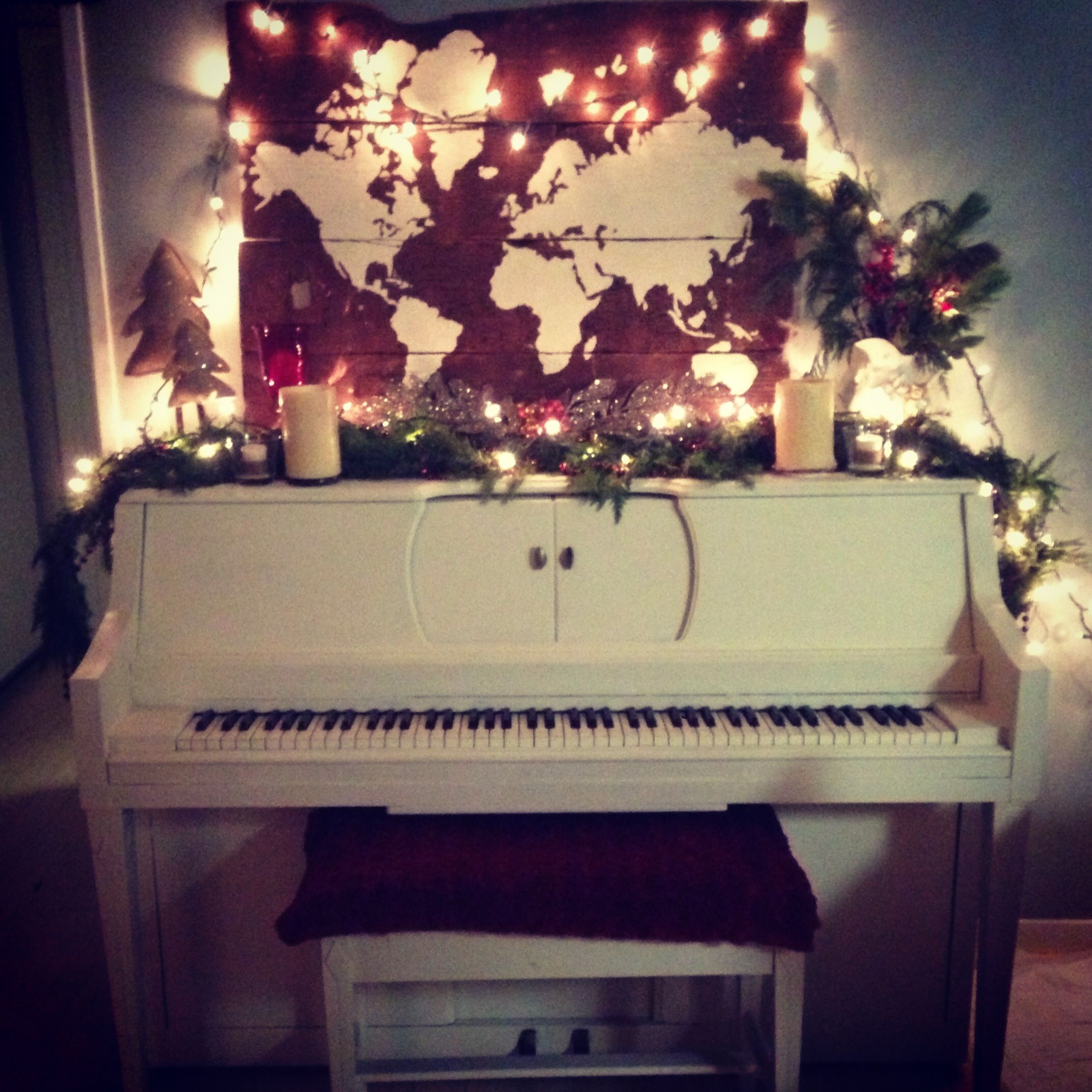 Christmas Decor Piano Decor Christmas Decor Pinterest