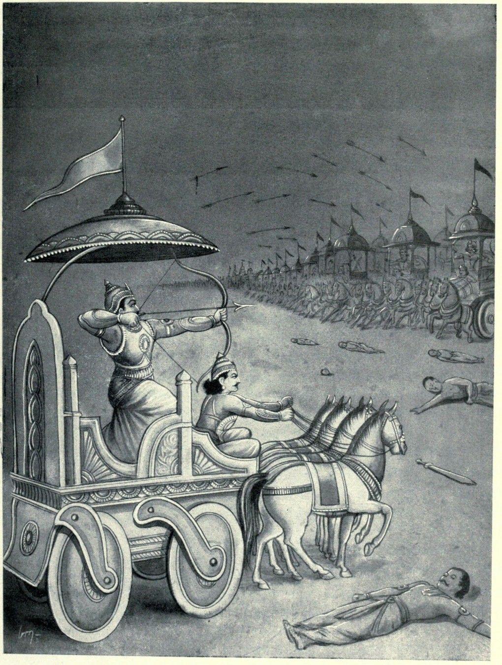 Satyaki Enters Kauravas Army And Battle With Soldiershttp://www.findmessages.com/satyaki-role-in-kurukshetra-war