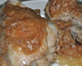 Pollo agglassato