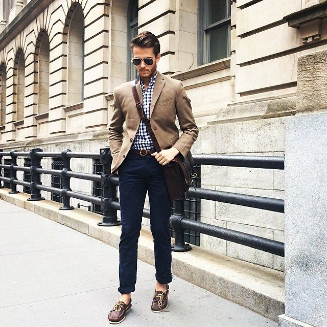 Chinos and blazer, Mens outfits