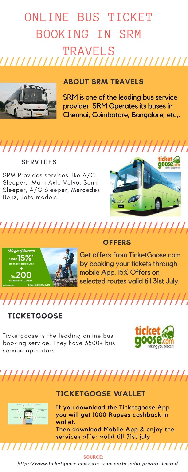 Pin By Ticketgoose On Srm Travels With Images Bus Tickets