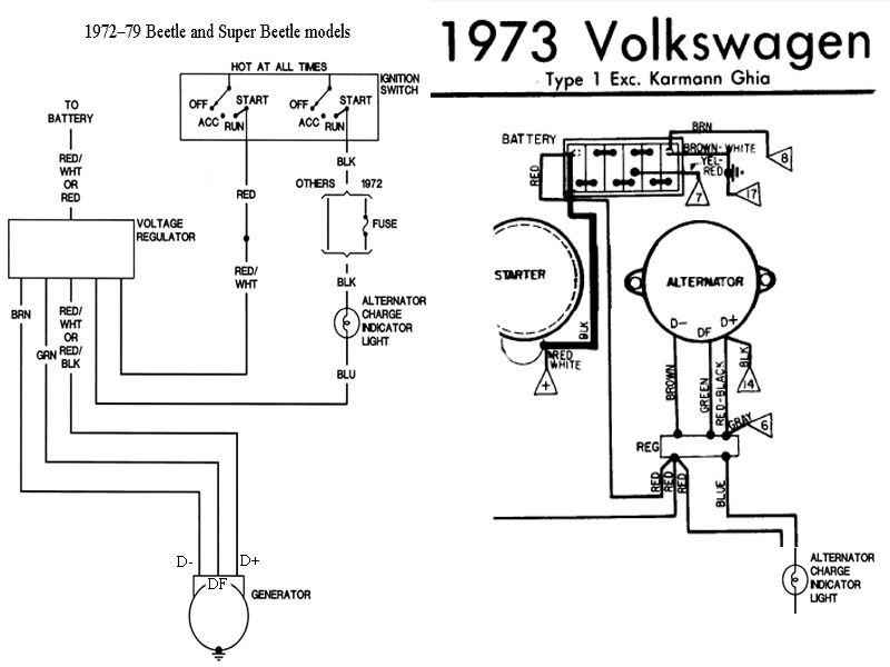 1973 Beetle Fuse Box | schematic and wiring diagram