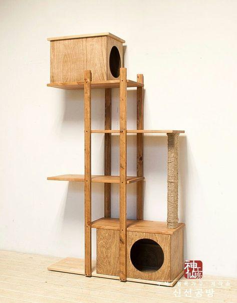 Pin By Sadie Wang On Courtyard Ideas Cat House Diy Cat Furniture Diy Cat Tree