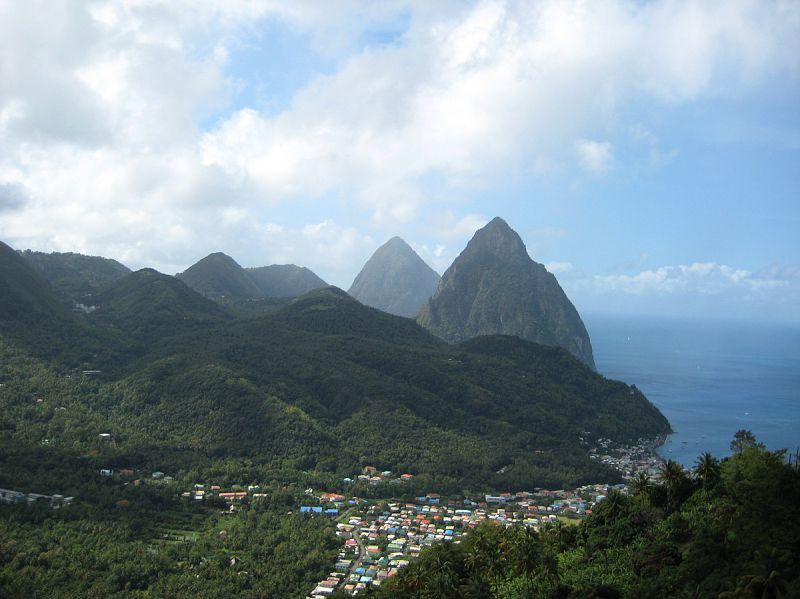 Pitons In St Lucia Travel Around The World Places To Travel Travel Photos