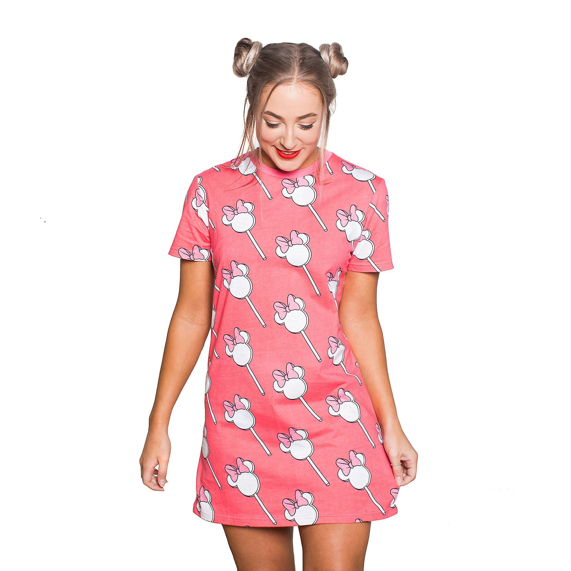 Minnie Mouse Lollipop TShirt Dress Adults by Cakeworthy