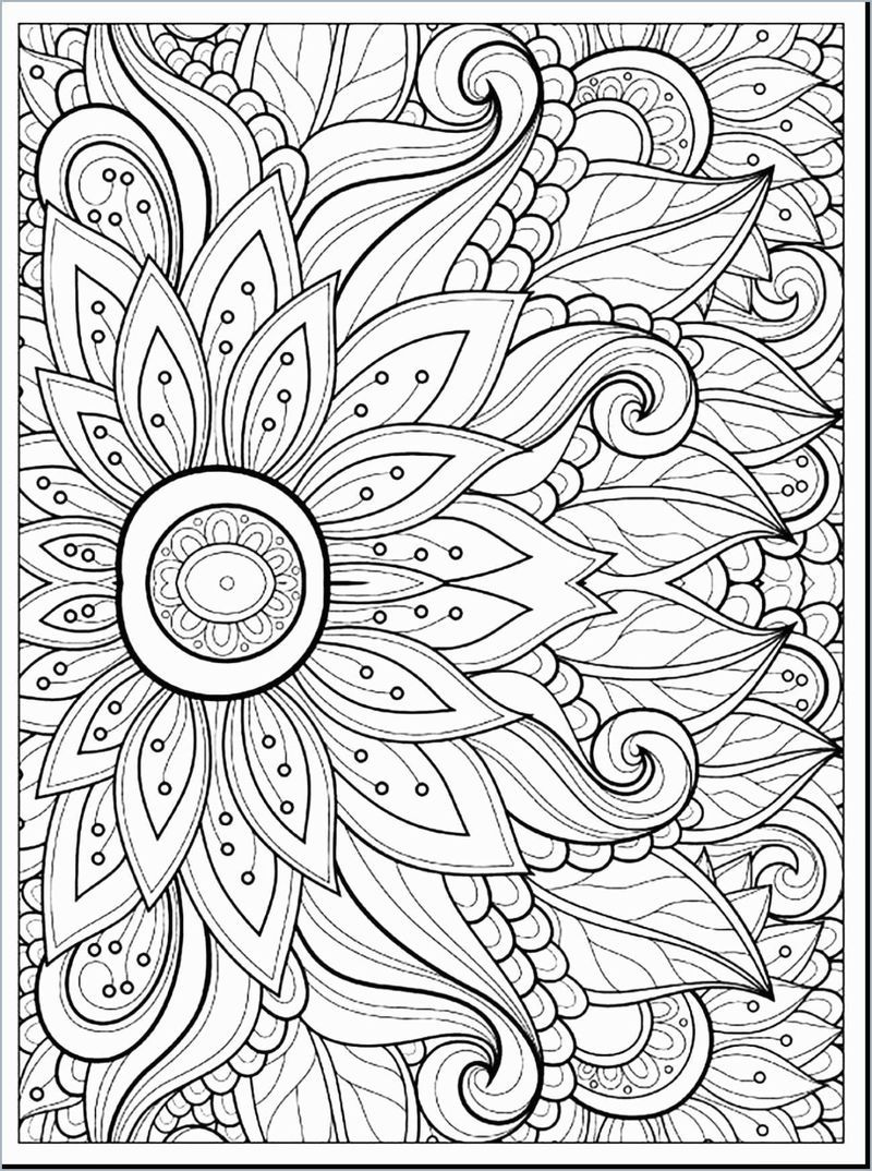 Free Printable Coloring Pages For Adults Pdf