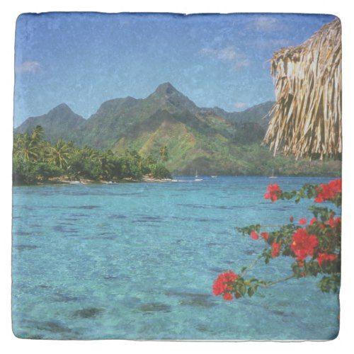 Bora Bora Island, French Polynesia Stone Coaster | Zazzle.com