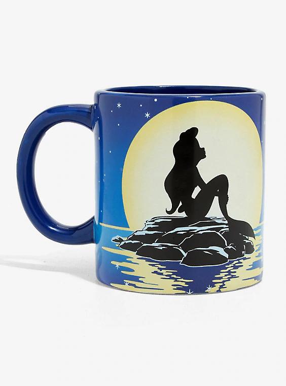 Disney The Little Mermaid Flounder Spinner Mug #disneykitchen