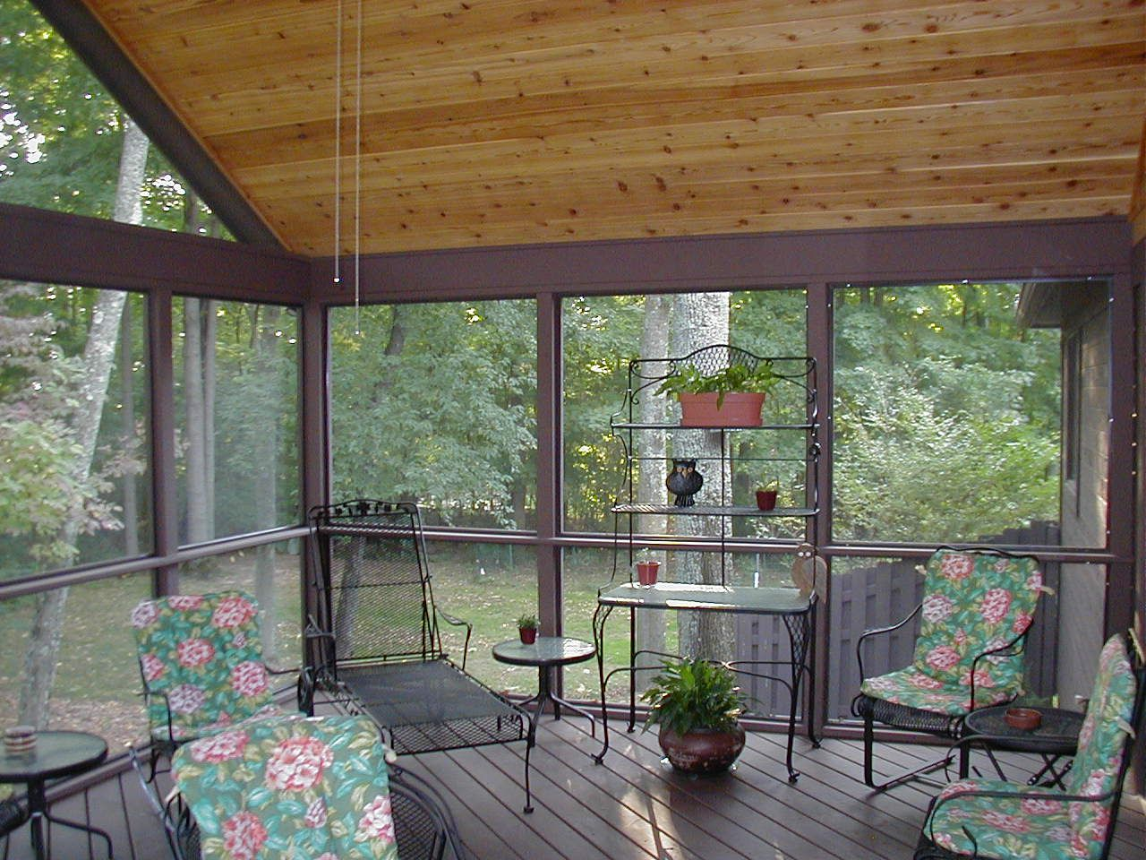 Screen Porch Flooring Options Screen porch flooring
