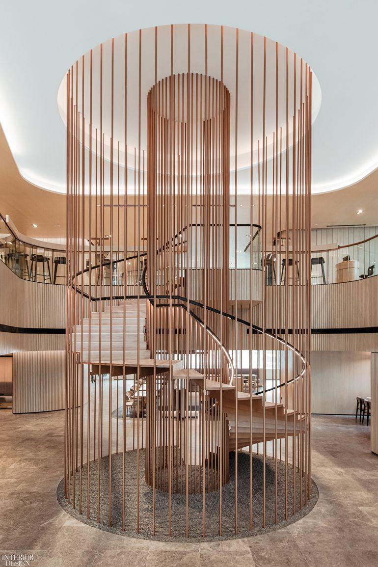 Ministry Of Design Installs Sky High Sculpture For Ytl Corporation Berhad In Kuala Lumpur In 2021 Design Office Space Interior Design Studio