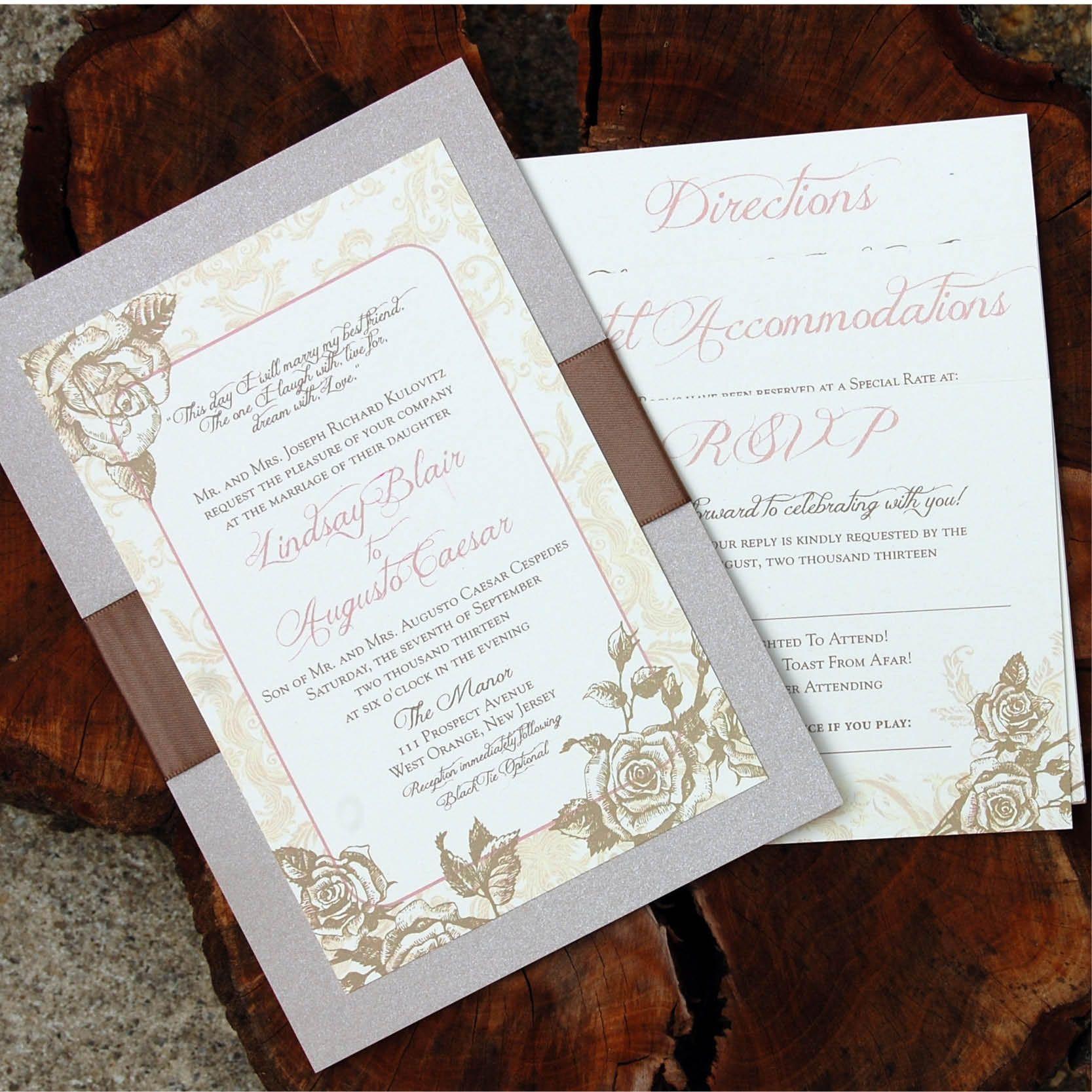 Vintage Secret Garden Www Thinkingpaper Com Wedding Invitations