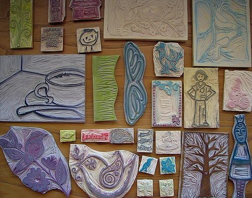 How to Make Your Own Rubber Stamps #rubberstamping