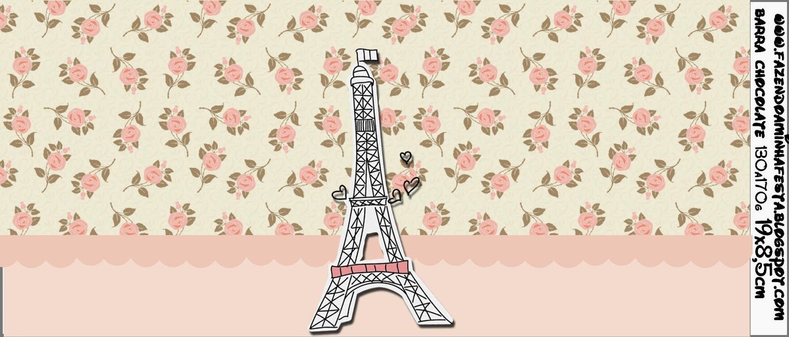 Paris and Roses: Free Printable Candy Bar Labes.
