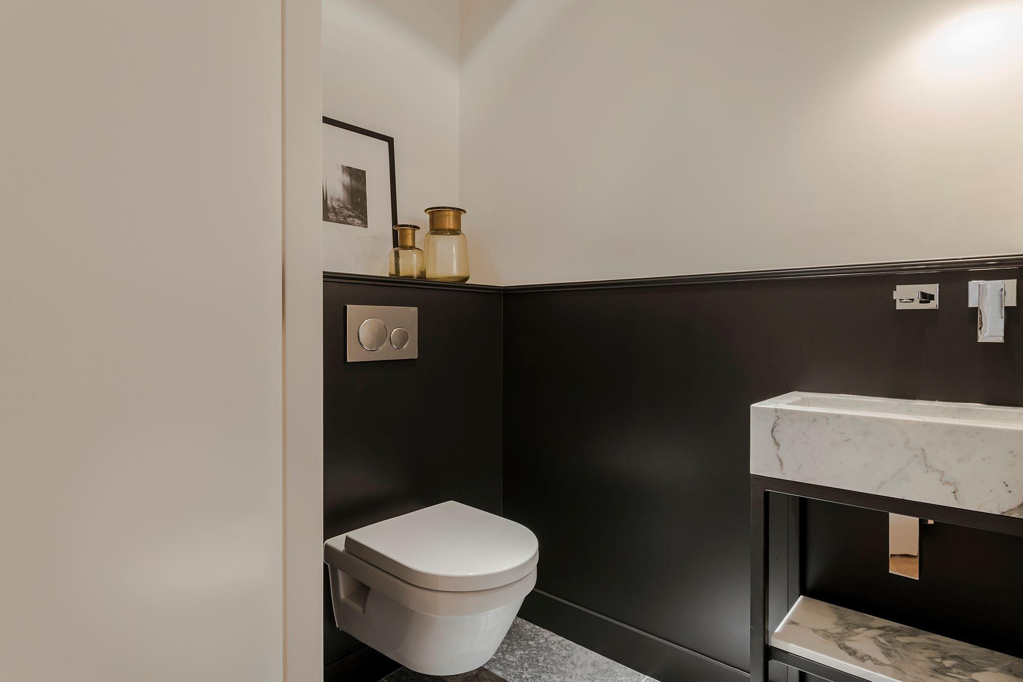 Wc zwart wit badkamer en wc pinterest