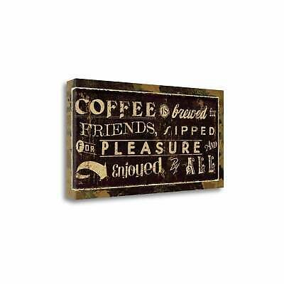 Coffee Quotes IV By Pela Studio  Gallery Wrap Canvas #fashion #home #garden #homedcor #postersprints (ebay link) #quotesaboutcoffee