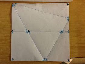 Angle Proofs using origami | Math ideas | Pinterest