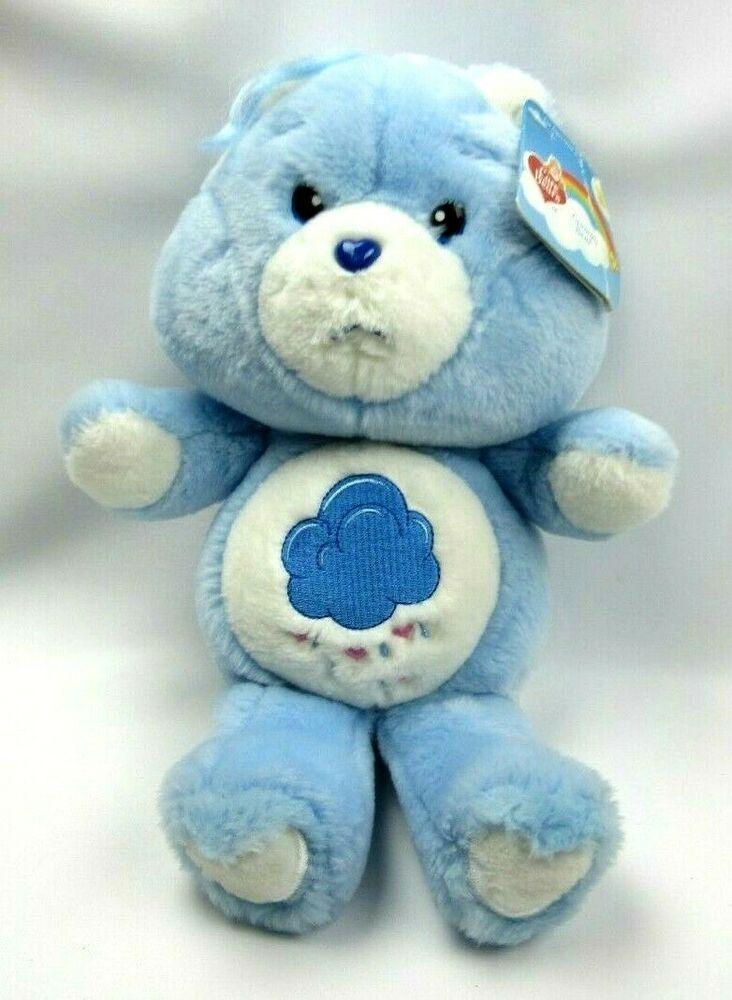 Care bears 12 grumpy bear plush 2002 carlton cards