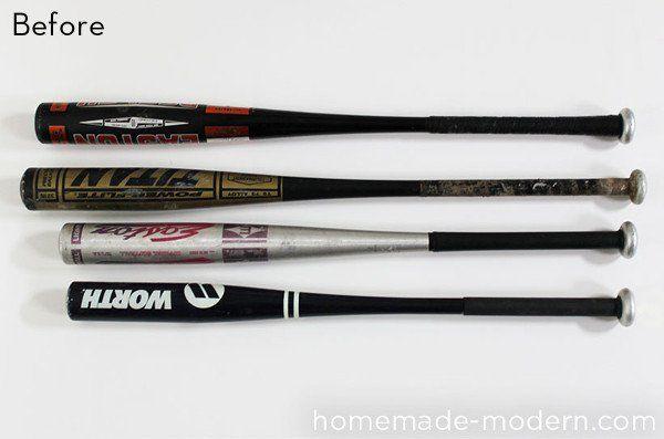 How To Turn An Aluminum Baseball Bat Into A Modern Pendant Light Aluminum Baseball Bat Baseball Bat Decor Metal Baseball Bat