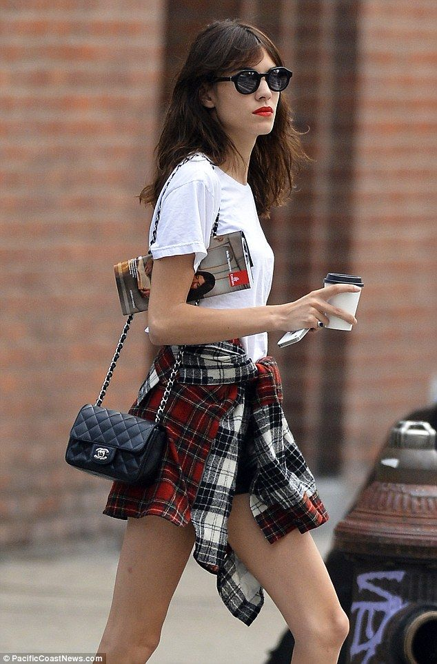 Alexa Chung swaps summer chic for sixties glam at Orla