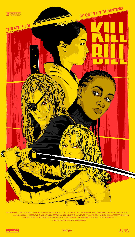 Pin By Mari Carmen On Dibujo Movie Posters Vintage Movie Posters Kill Bill