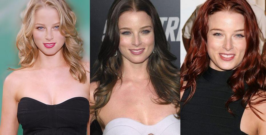 Rachel Nichels - Blonde vs Brunette and Whaaaa?!