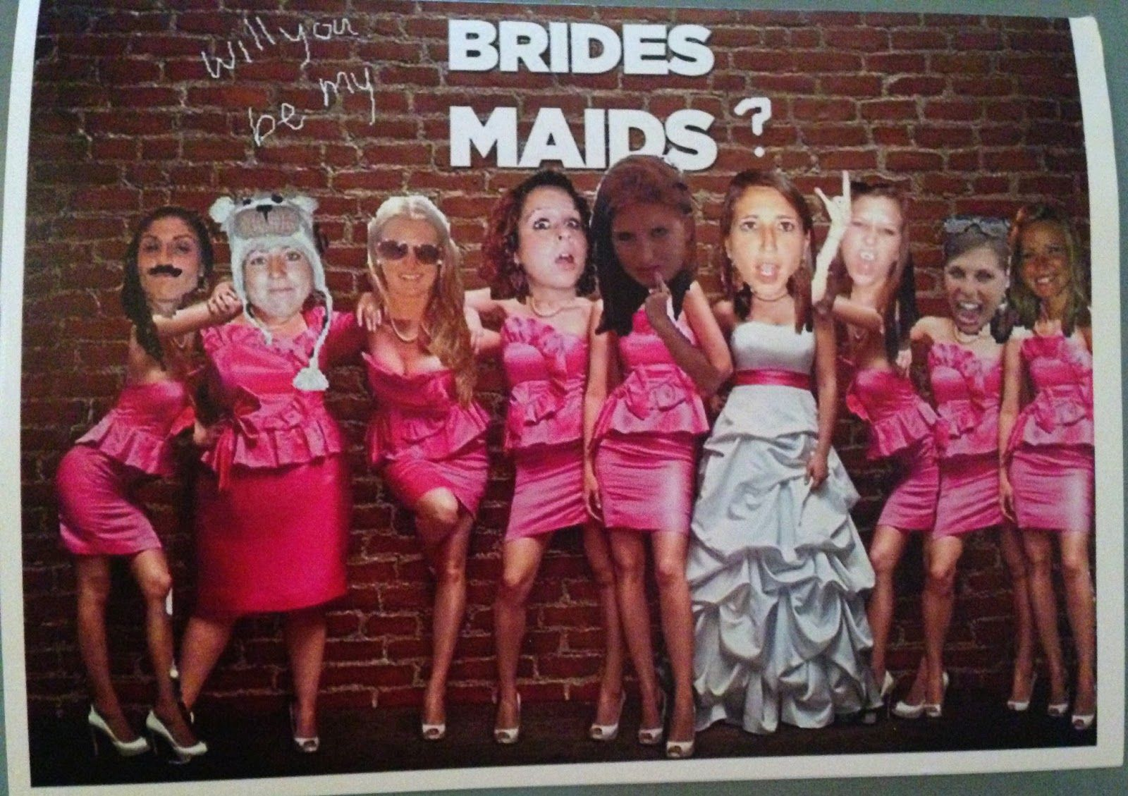 Friday 5: Ways To Ask Your Bridesmaids
