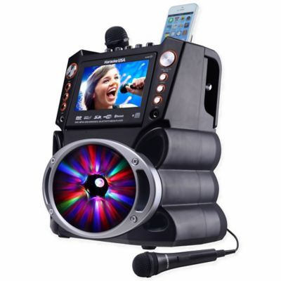 Karaoke Usa Dvd/cdg/mp3G Karaoke Machine With Screen/bluetooth/led Display #bestkaraokemachine
