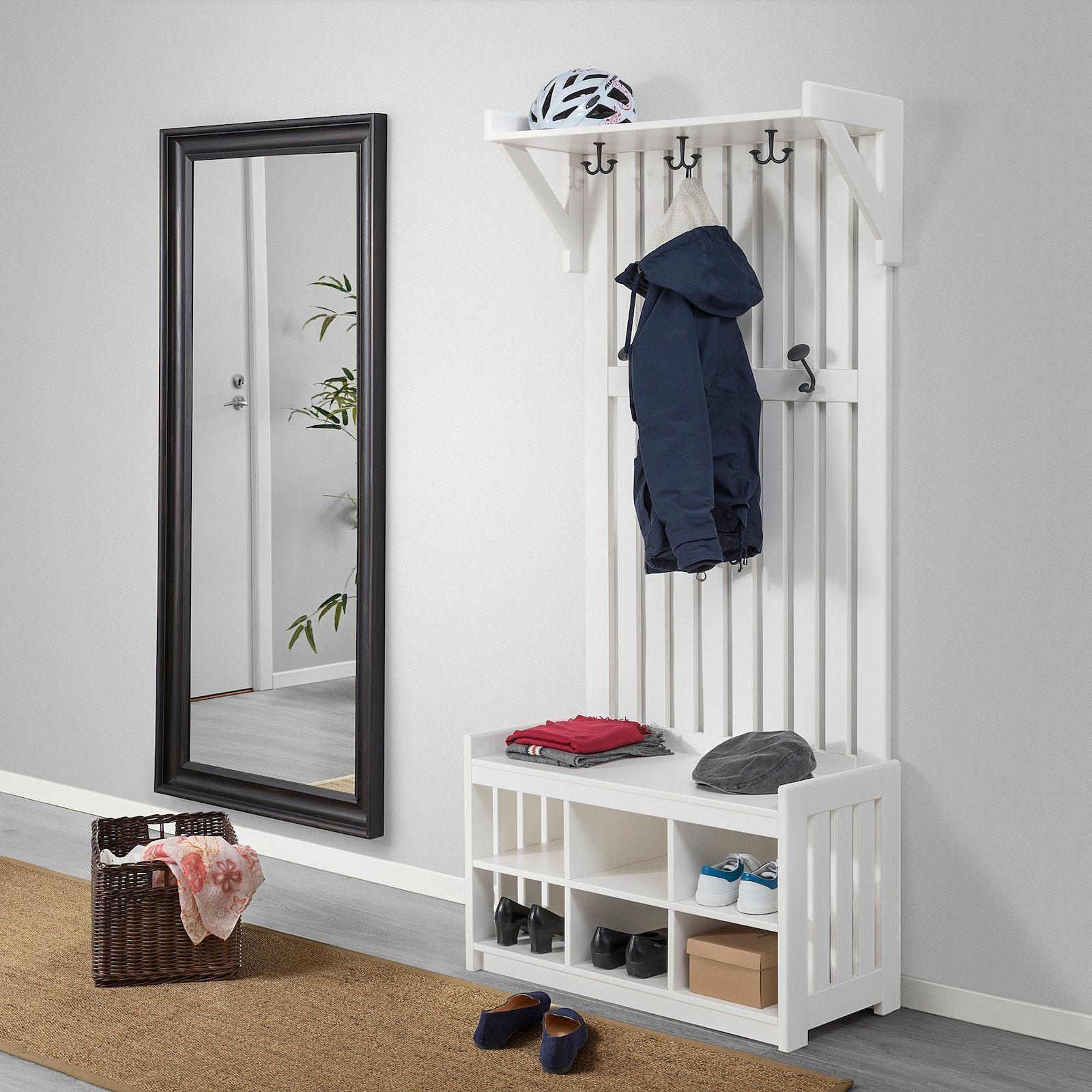panget coat rack with shoe storage