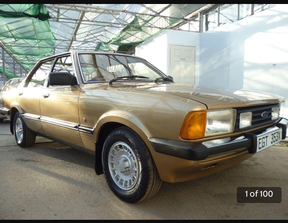 Ebayford Cortina Mk5 2ltr Ghia Auto 1982 X Reg 1980s Cars British Cars Classic Cars Retro Cars