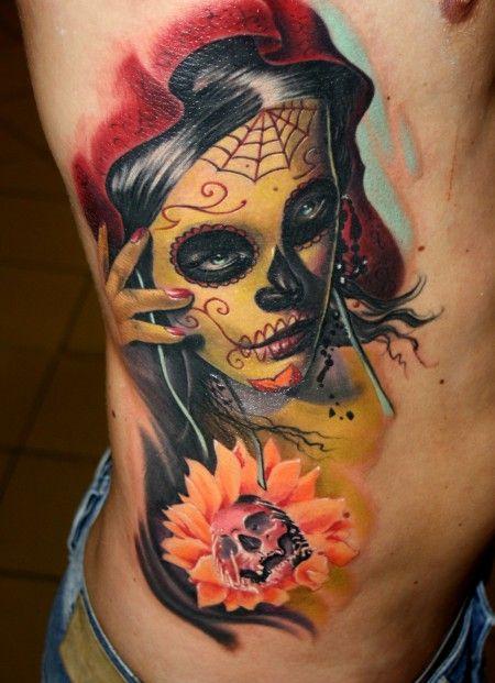 Tattoos zum Stichwort La Catrina | Tattoo-Bewertung.de ...