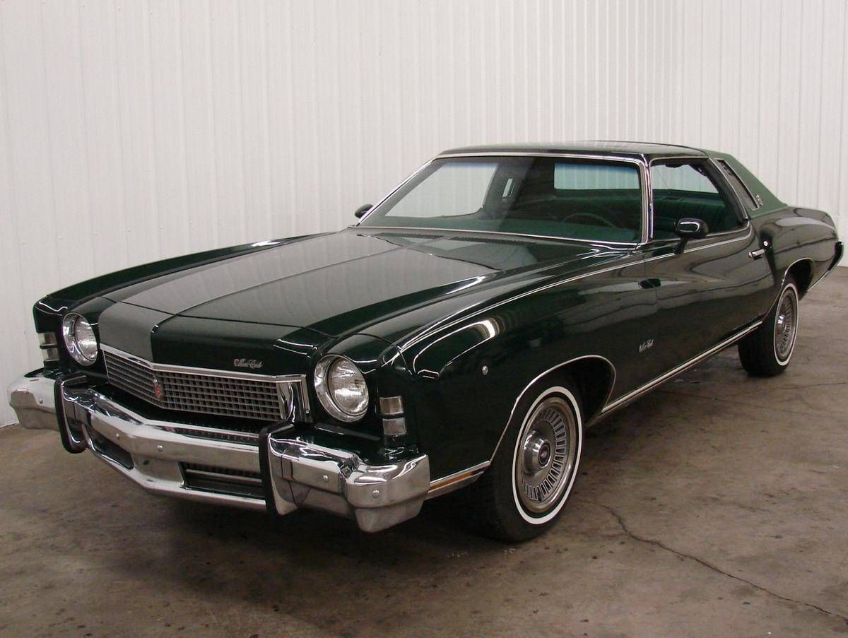 1973 Chevrolet Monte Carlo 8 950 Chevroletclassiccars