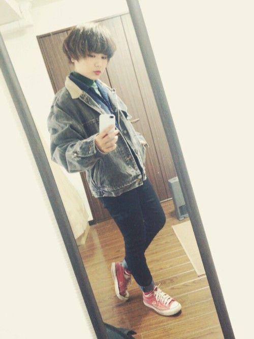 Inagaki Kazuki (19)さんのDenim jacket「RALPH LAUREN 」を使ったコーディネート